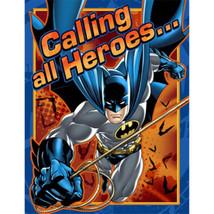 Batman Heroes and Villans Birthday Party 8 Invitations - $3.79