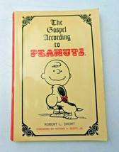 The Gospel According to Peanuts by Robert L. Short 1970 paperback book GOOD - $6.00