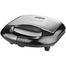Brentwood Appliances TS-240B Nonstick Compact Dual Sandwich Maker (Black) - $33.28