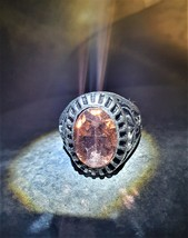 HAUNTED djinn ring, jinn ring power and wealth, haunted ring, money spell - $177.00