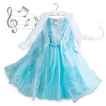 Disney Store Frozen Musical Singing Elsa Costume Dress  9/10 - $69.99
