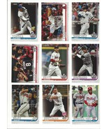 2019 TOPPS UPDATE BASE ( RC's, ROOKIES,STARS ) WHO DO YOU NEED!! - $0.99+