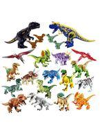 Jurassic 2 Building Blocks World Dinosaurs Figures Bricks Assemble Kids ... - $49.00