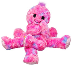 NEW Build a Bear Octo Fun Pink Fuchsia Octopus 17 in. Stuffed Plush Toy ... - $89.99