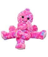 NEW Build a Bear Octo Fun Pink Fuchsia Octopus 17 in. Stuffed Plush Toy ... - $89.99