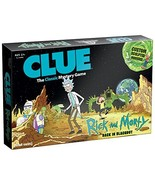 USAOPOLY CLUE: Rick and Morty | Featuring Characters from The Adult Swim TV Show - $103.75