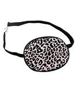 Adult Silk Sleep Eye Patch for Lazy Eye Amblyopia Treatment,Pink Leopard... - $16.36