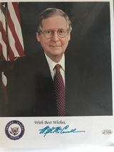 Mitch McConnell 1988 Kentucky Senator Hand Autographed Signed Photo 8x10... - $19.95