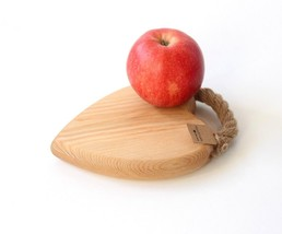 New HANDMADE Wood Ash & Flax French Country Wooden Trivet Hot Pot Stand ... - $27.60