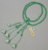 Nichiren Buddhism Japanese rosary Juzu Beads Real Jade Kyoto japan - $159.59