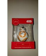 Hallmark ornament disney star wars b b 8 aka bb8 new in box christmas decor - $20.95