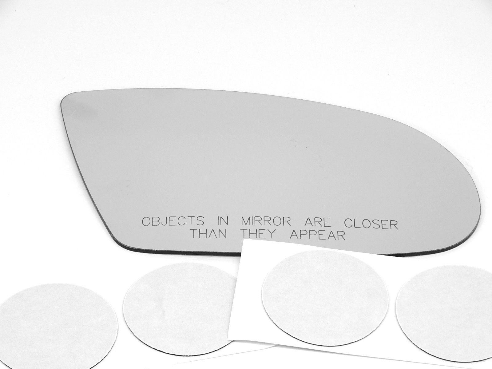 NEW Mirror Glass ADHESIVE 04-05 TOYOTA RAV4 RAV-4 Passenger Right Side