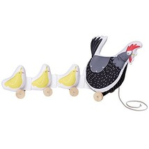 Manhattan Toy Farmer's Market Chicken Soft Pull Along Preschool Activity... - $46.57