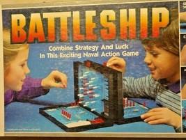 Vintage 1984 Milton Bradley Battleship Strategy Board Game Military Nava... - $18.69