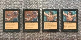 MTG Homelands Black Cards Lot: Torture 4x - Playset - $3.13