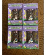 "Lot Of 4 Easter Palmer ""Hoppy"" Hollow Milk Chocolate Bunny 1.5oz - $19.79"