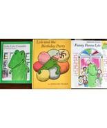 Bernard Waber LYLE Books Lot of 3 Birthday Party Crocodile Funny Funny S... - $15.79