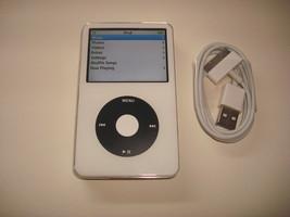 APPLE  IPOD  VIDEO  5.5 GEN.  CUStOM  WHITE/BLACK   128GB.  SSD DRIVE... - $211.00
