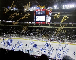 2013-14 Winnipeg Jets Team Signed Team Autographed 16X20 Photo Coa Sheifele Kane - $124.99