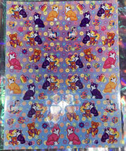 *Pick1Sheet* VINTAGE Lisa Frank Full Complete Sticker Sheets Still Glossy Crisp image 5