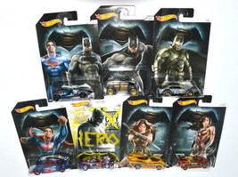 Hot Wheels Batman v Superman Lot of 7 Vehicle - $56.09