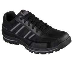 Men's SKECHERS RELAXED FIT: Braver- Gonsor Casual Shoe, 64624 BLK Multip... - $62.95