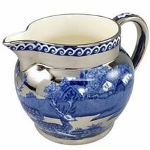 Wedgwood Fallow Deer Creamer Jug Barlaston Of Etruria Blue Silver Englan... - $34.00