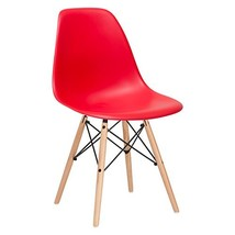 Poly and Bark Vortex Side Chair, Red - $45.67