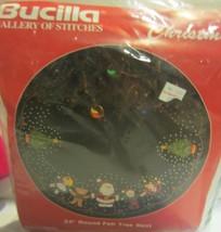 Bucilla Felt Applique Christmas Tree Skirt Kit  Santa and Friends - $77.90
