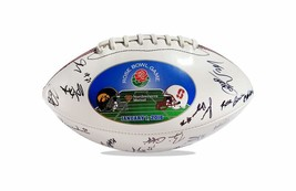 2015 Stanford Cardinal team signed football w/Certificate autographed (48 - $203.94