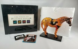 Trail of Painted Ponies Ghost Horse Box #1544 2nd Edition Signed by Bill... - $59.40