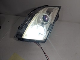 08-11 CADILLAC CTS LH DRIVER HALOGEN  HEADLIGHT LAMP W/ LED BULB - $161.99