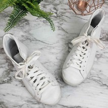 Skechers 6 White High Top Fashion Sneakers - $9.49