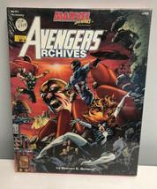 TSR Marvel 6908 Super Heroes Avengers Archives Box  Sealed - $142.56