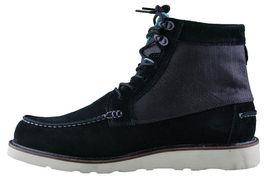 Diamond Supply Black Suede G.I. Ankle Moc Work Boots NIB image 4