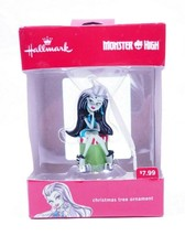 Collectible Hallmark 2016  Monster High Frankie Stein Doll Christmas Orn... - $6.99