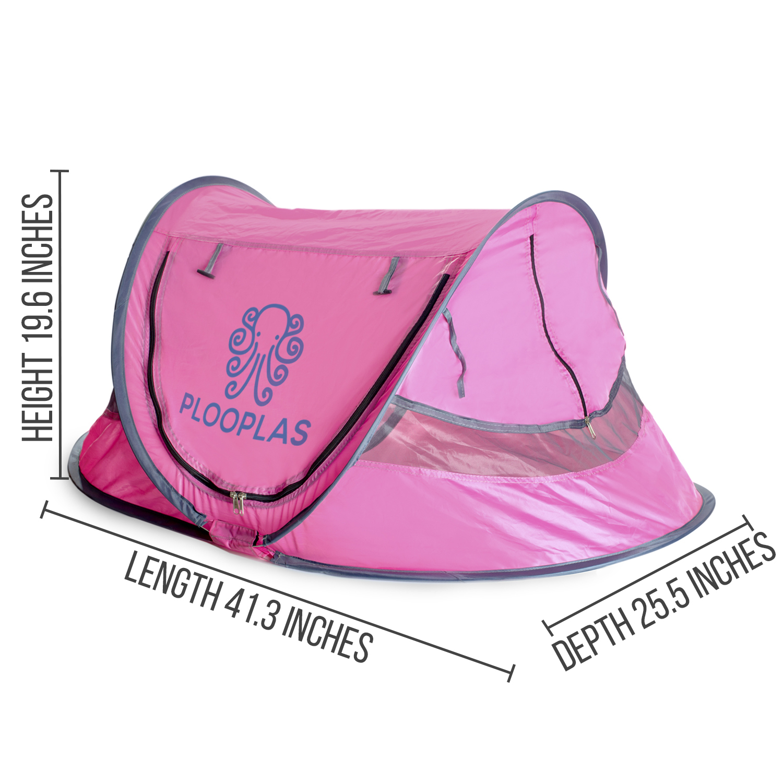 Baby Beach Travel Tent.  Pop-up Shade UV Protection Sun Shelter Light  travel.