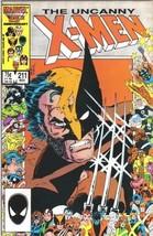 The Uncanny X-Men Comic #211 Marvel Comics 1986 NEAR MINT NEW UNREAD - $24.11