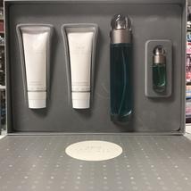 360 by Perry Ellis 4-PCs MEN Set, 3.4 OZ + MINI + Aftershave + Shower Gel - $37.98