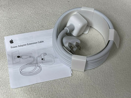 NIOB Apple MK122LL/A A1689 Power Adapter Extension Cable US Plug Genuine - $14.50