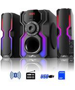 beFree Sound 2.1 Channel Bluetooth Multimedia Wired Speaker Shelf Stereo... - $109.62