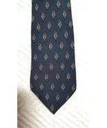 "Bill Blass Black label Mens Tie 100% Silk Navy  length  60""  width 4"" - $4.94"