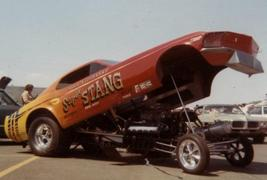 PL T. Grove 'Going Thing' '69 Mustang F/C w/CB 'Super Stang' '70 F/C - $39.00
