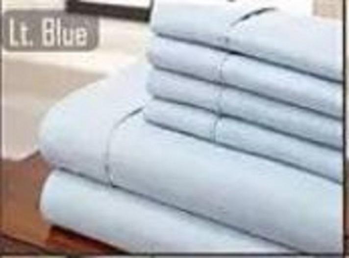 6pc Microfiber Sheet Set Super Cool Microfiber Bed Sheets 1800 Thread Count