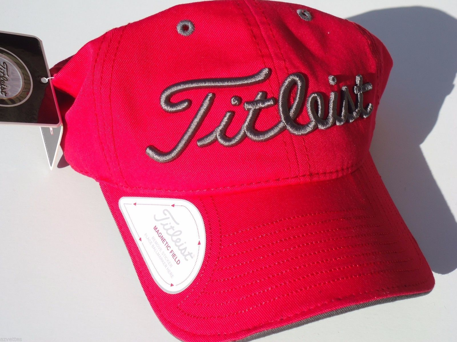 NEW! Red Grey Titleist Men-Women s Golf Ball and 50 similar items edf17ada2447