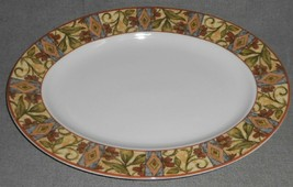 "1996 Royal Doulton CINNABAR PATTERN Oval 13 1/4""  SERVING PLATTER - $29.69"