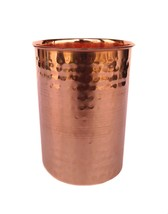 Rastogi Handicrafts Drinking Glass Cup Pure Copper Steins Tumble glass M... - $11.39