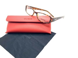 GUESS GU1564 Eyeglasses Frames 52-16-135 Tortoise Crystals Option To Add RX - $33.92
