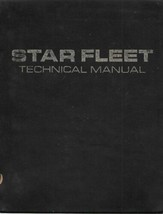 Star Trek Star Fleet Hardcover Technical Manual Book 1975 1st Print, No ... - $11.64