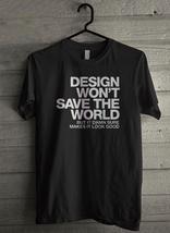 Design save the world - Custom Men's T-Shirt (3858) - $19.13+